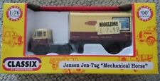 DIECAST JENSEN - (JEN-TUG) & PARCEL VAN TRAILER - BRITISH RAILWAYS EM76508 (OO)