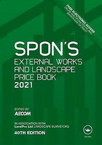 Spon's Price Book 2021 External Works and Landscape (40th Edition)