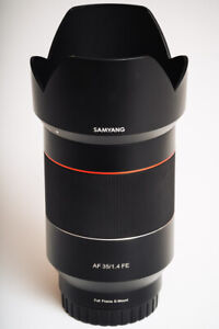 Sony Samyang AF 35mm f/1.4 FE Lens for Sony Full Frame E-Mount