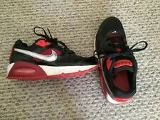 Used Nike Air Max Red And Black Size 6 Shoes