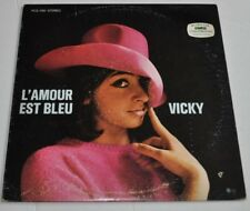 VICKY LEANDROS: L'Amour est Bleu LP Record