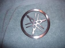 Small Plasma cut Yamaha tuning forks Metal circle Man Cave Wall Decor