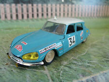 "1/43 Eligor (France)  Citroen DS 21 1967  ""Monte Carlo rally"""