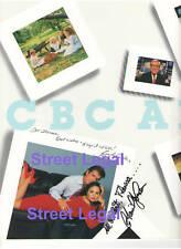CYNTHIA DALE C DAVID JOHNSON STREET LEGAL CANADA 2 HAND SIGNED CBC BOOKLET RARE!