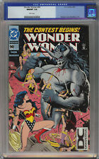 Wonder Woman #90 CGC 9.8 Rare DC UNIVERSE Variant Collectors Pack ed 1st Artemis