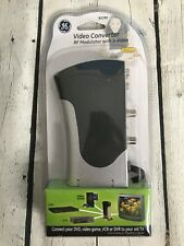 GE Video Converter RF Modulator with S-Video 83299 New