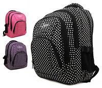 High Quality Large Chervi Polka Dot Backpack Rucksack Travel Hand Luggage Bag