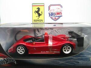 1:18 Hot Wheels Ferrari 333 SP 1994 rouge (no Bburago, no Elite)