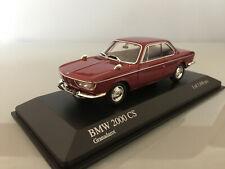 1:43 Minichamps BMW 2000 CS , 1967 , Granadarot