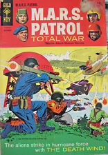 M.A.R.S. Patrol Total War 1968 #7 Silver Age Gold Key Comics GD+ 15 Cent