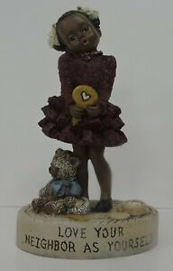 "1998 ALL GODS CHILDREN 4 3/4"" VANESSA FIGURINE-MARTHA HOLCOMBE"