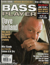 BASS PLAYER Magazine Vintage back issue January 2005 Dave Holland Duran Duran