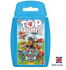 TOP TRUMPS PAW PATROL CARD GAME Family Kids Fun Play Cards Toy Christmas Gift UK