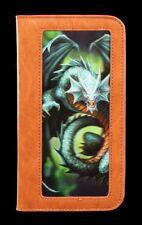 Funda para móvil con 3d diseño - Dragón jade esmeralda - Anne Stokes PROTECTORA