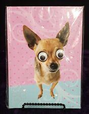 Hardback Googly-Eyed Chihuahua Notebook