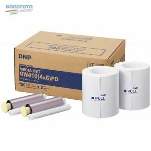 DNP Mediaset Premium (PD) für QW410 Drucker 10x15cm (4x6inch) f