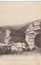 DOUAUMONT MEUSE GUERRE 14-18 WW1 12 entrée du fort après bombardement