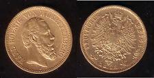 20 Mark Gold Württemberg Karl 1873