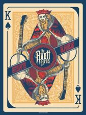 The Avett Brothers 9/20/2016 Poster Brooklyn Las Vegas Signed & Numbered #/125