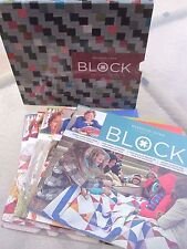 Magazine Box Set 2014 ~ MSQC BLOCK COLLECTOR'S SET ~ by Missouri Star Quilt Co