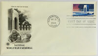 50 USPS PCS World War II Memorial 2004 37c Stamp FDC 3862 First Day Issue NEW