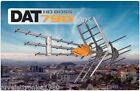 ANTENNA DIGITALE TERRESTRE DAT HD BOSSTECH MIX VHF/UHF TELEVES 1496 AMPLIFICATA