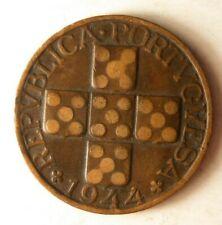 1944 Portugal 20 Moneda - Clave Fecha Superior Vintage Bin #3