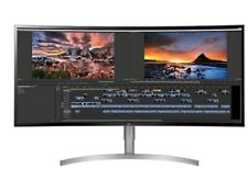 "LG 38WK95C-W 37.5"" 21:9 UltraWide Curved IPS Monitor #back-light bleed"