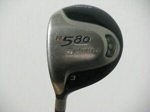 LH Taylormade R580 Titanium 15* 3 Wood Stiff Flex Graphite EXCELLENT!!
