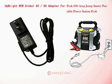 AC Power Adapter For Peak 600 Amp Jump Starter Portable Power Station Charger
