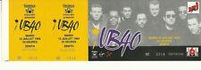 RARE / TICKET BILLET DE CONCERT - UB40 : LIVE A PARIS ( FRANCE ) 1994