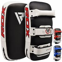 RDX Kick Boxing Strike Curved Arm Pad MMA Focus Muay Thai Punch Shield Mitt RWB