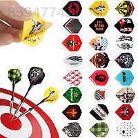 F578 24 sets 72pcs 2D Cool Bling Dart Flights Darts Tail Wing Outdoor Sports