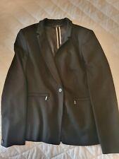 Next Tailoring Black Ladies Jacket Size 16R
