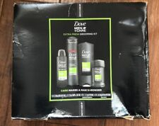 Dove Men+Care Gift 4 Piece Gift Set in Extra Fresh Deodorant Body Wash Shampoo