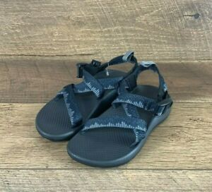 Chaco Z1 Ecotread Kid J180271 Amp Navy Open Toe Big Kids Sandals YOUTH Size 2 US
