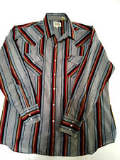Mens ELY Cattleman Button Down Shirt  Size Extra Large  Excellent!!