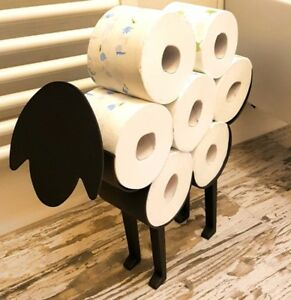 porta rotolo carta igienica pecora nera arredo bagno design l'originale
