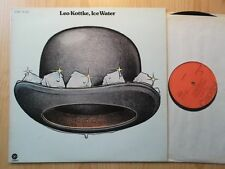 Leo Kottke LP: Ice Water (D; Capitol 1c 062-81 610)