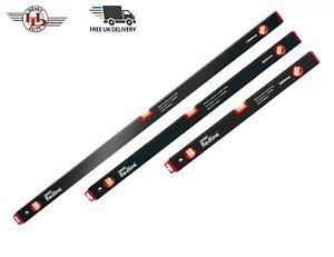 3Pc Spirit Level Set Aluminium 3 Vials 600mm,900mm & 1200mm Level Set