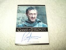 Game Of Thrones Autograph Card Ralph Ineson as Dagmer Cleftjaw