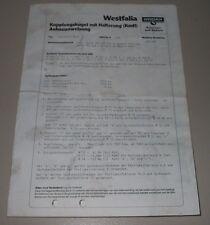 Einbauanleitung AHK mit Halterung Volvo 140 160 ab 1974 + 240 260 ab 1984!