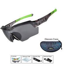 RockBros Polarized Cycling Glasses TR-90 PC Anti-sweat UV400 Sunglasses
