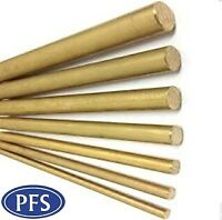 Brass Round Bar/Rod  CZ121 - 4mm 5mm 6mm 8mm 10mm 11mm 12mm & 15mm - Solid Brass