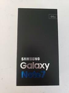 Samsung Galaxy Note 7SM-N930P - 64 GB - black (Sprint) Smartphone open box