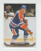 (71232) 2015-16 UPPER DECK CANVAS JARI KURRI #C255