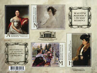 Belarus Art Stamps 2020 MNH Paintings Masterpieces from Museums 4v M/S