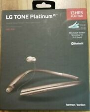 New Sealed LG Tone Platinum HBS-930 Bluetooth Stereo Headset - Rose Gold