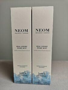 Neom Organics London Real Luxury Mist Spray 2 bottles NEW
