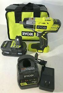 """RYOBI P261K 1/2"""" Impact Wrench 3 Speed 18V kit, N"""